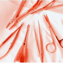 Instrumentai ir priemonės chirurgijai